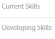 Current and Developing Skills section