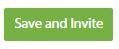 Save and Invite button, Charity Republic
